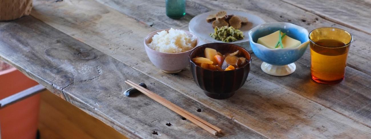 お米を中心とした食卓