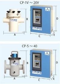 銀イオン発生装置イオンクリーナーの寸法