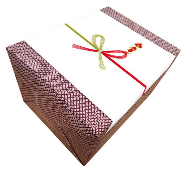 包装紙ラッピング+熨斗(のし)のイメージ