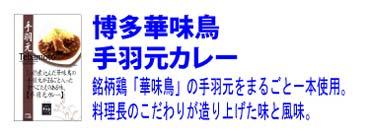 博多 華味鳥【手羽元カレー】