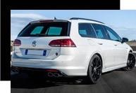 VWゴルフ7エクステリア