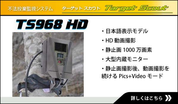 不法投棄監視カメラ TS968HD