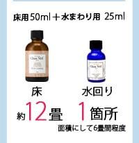 床用50ml+水まわり25ml 商品詳細へ