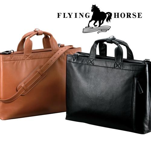 FLYING HORSEホースレザーブリーフケース