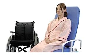 車椅子から移乗測定