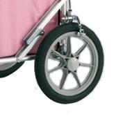 オプションで標準空気タイヤをノーパンクタイヤに変更できます。