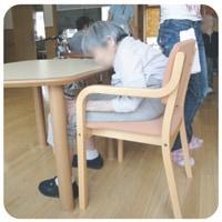 通常の椅子の姿勢