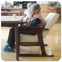 円背椅子やすらぎの姿勢