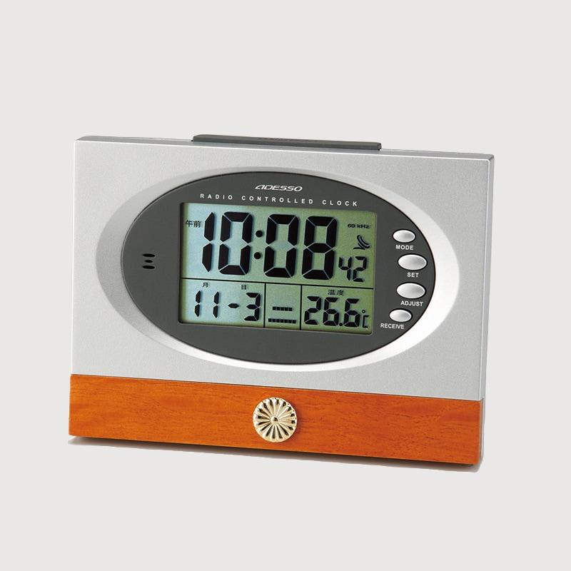 叙勲の返礼品 アデッソ 電波時計C-8212