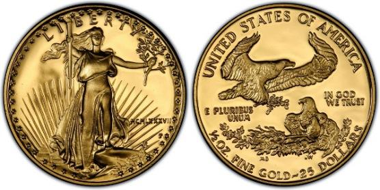 アメリカ 25ドルイーグル金貨200...