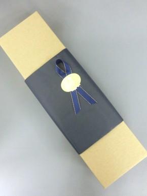 無料ギフト用包装紙 紺色