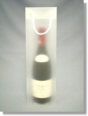 ワイン1本用バッグ 半透明