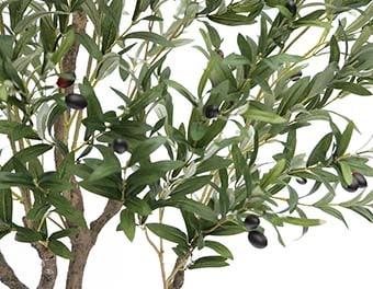人工観葉植物オリーブの木1400葉