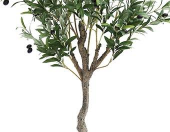 人工観葉植物オリーブの木1400根本