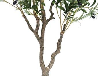 人工観葉植物オリーブの木2100根本