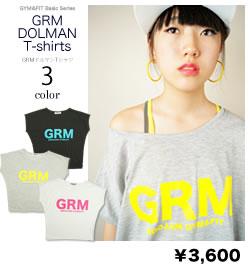 GROOJAM(グルージャム)GRMドルマンTシャツ