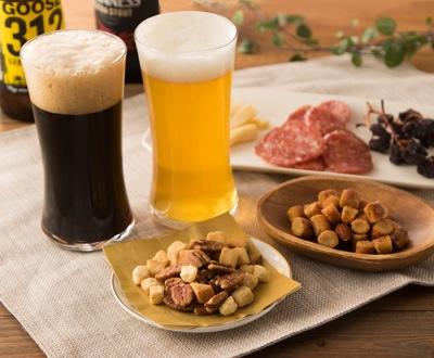 瀬戸内の藻塩(クルトン入り)×黒ビール