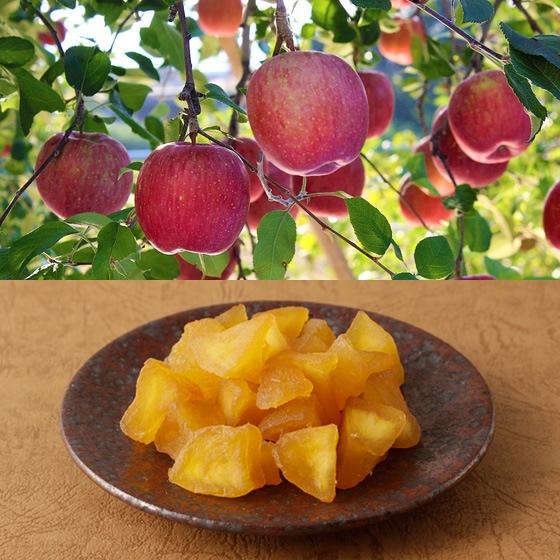 酸味と甘みのバランスが特徴のふじりんごをホワイトチョコレートで丁寧に包みました。
