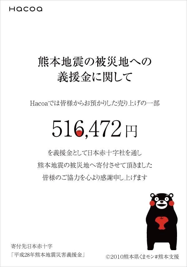 熊本地震の被災地への義捐金に関して ©2010熊本県くまモン#熊本支援