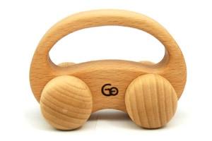 優しい手触りの車のおもちゃ「くるまめ」