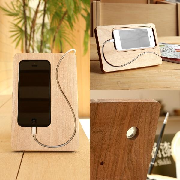 コードの流れまでデザインしたiPhone5の新しいスタンド