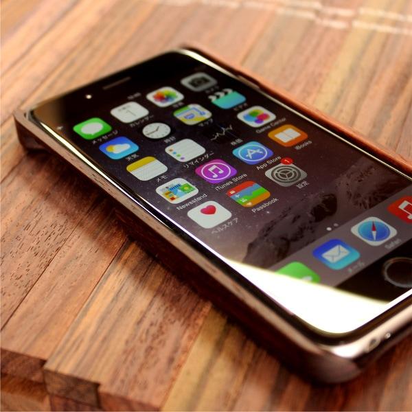 iPhone6に対応した木製アイフォンケース