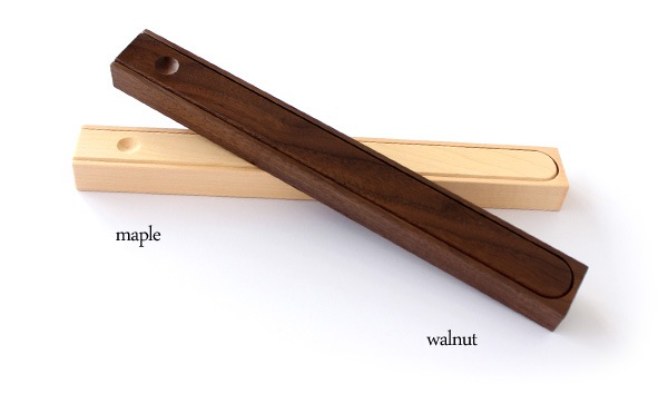 Hacoaデザインの、おしゃれな木製箸箱