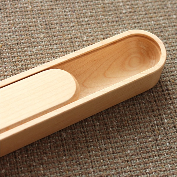 木製の子供用箸箱