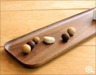 優雅に使える木製のロングトレー・カトラリー