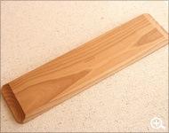 優雅に使える木製のロングトレー