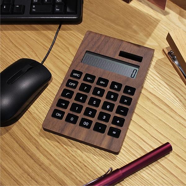 シンプルで美しいデザインの電卓
