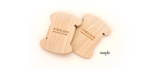 イヤホンをおしゃれに収納する木製コード巻き