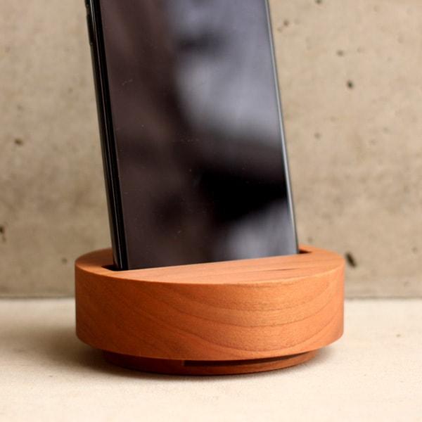 メープルの木製スピーカースタンド