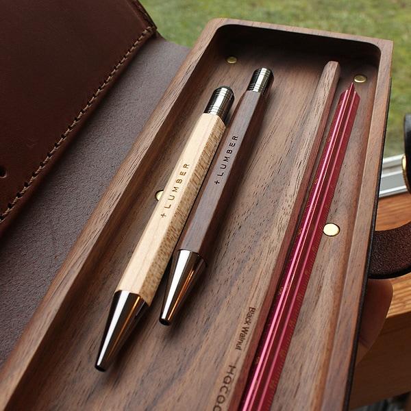使う程に趣が増し、愛着が生まれるあなただけの木製タッチペン&ボールペン。
