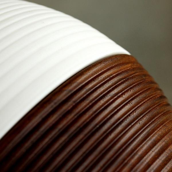 茶筒やお椀等の日本の茶道具を作る際に使われる意匠「盛筋(もりすじ)」