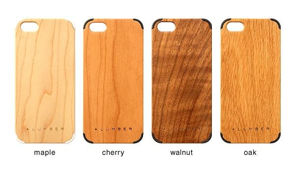 メープル・チェリー・ウォールナット・オークの天然木板材をアクセントとしてプラス