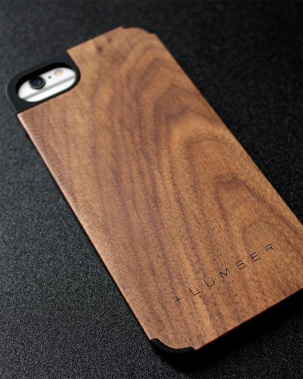 丈夫なハードケースと天然木を融合したiPhone6/6s専用木製ケース