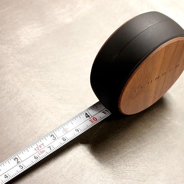 3.5mまで計測可能な、インチ&メーター表示のメジャー
