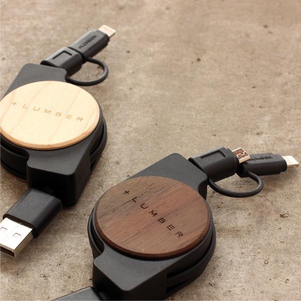 micro USBとライトニングコネクタに対応。iPhone・iPad・Androidスマホ等にお使いいただけます