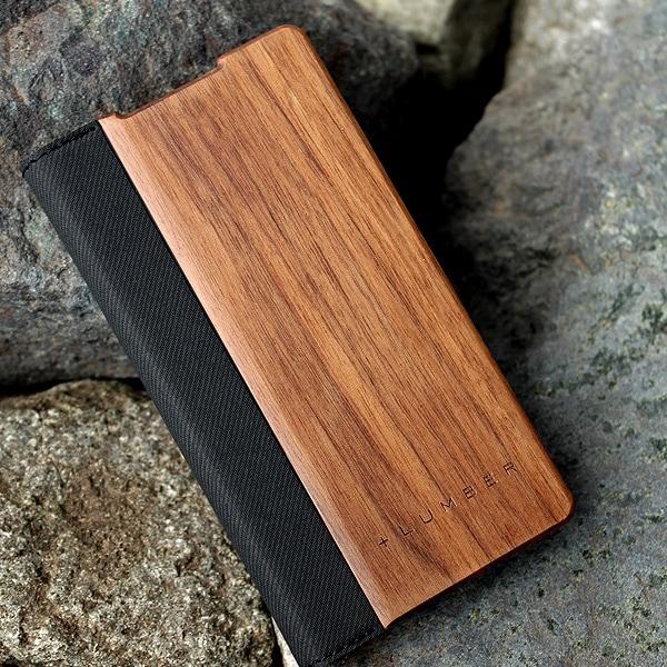 手帳型の木製スマートフォンケースXperia™ Z5 Compact