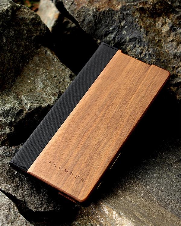 手帳型の木製スマートフォンケース Xperia™ Z5専用
