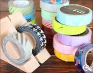 Hacoaブランドの木製テープカッター「Ki-de-Kiru MT」