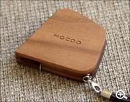 Hacoaブランドのデザイン木製メジャー「Measure」