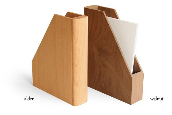 木製ポストカードスタンド・ホルダー
