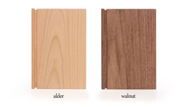使う程に愛着がわく木製ノート