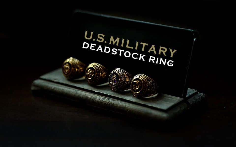US Military 1990's Deadstock Military Ring