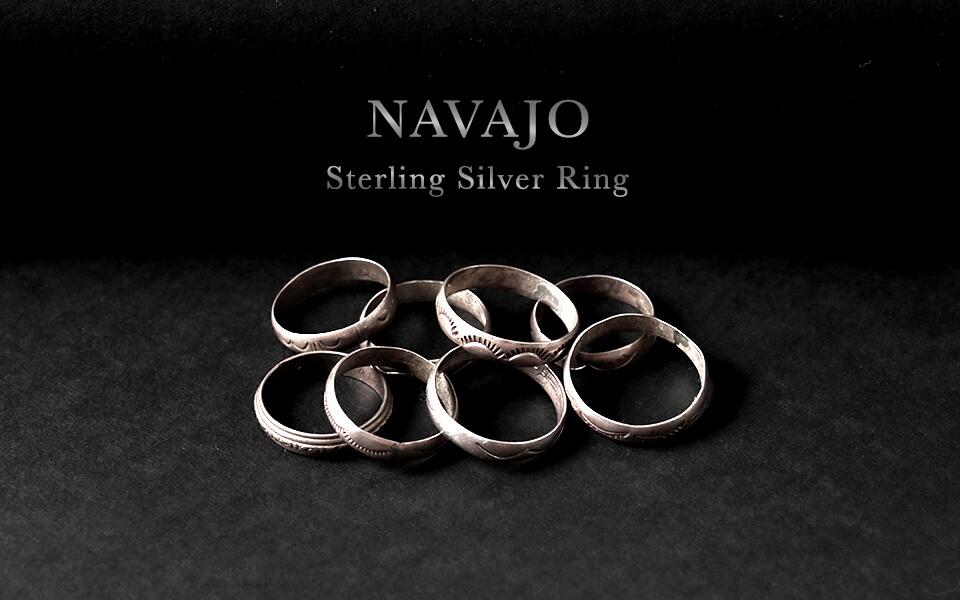 Navajo/Sterlingsilver ring