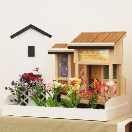 三田地域の庭付新棚