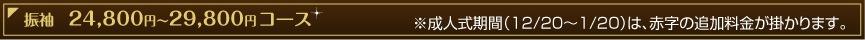 振袖 24,800〜コース