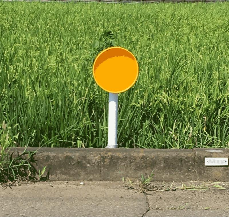 φ300 大型視線誘導標